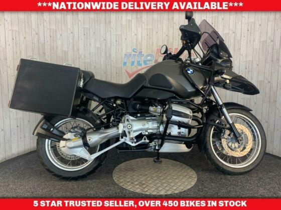 BMW R 1150 GS ABS ADVENTURE BIKE WITH SIDE LUGGAGE 2001 MODEL
