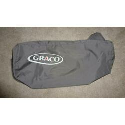 Graco Pack n Play Replacement Larger Storage Cover Carry Bag w/ Zipper Grey/Tan