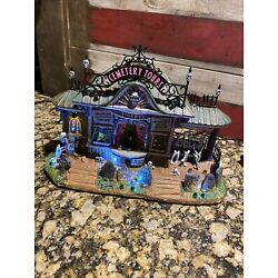 Lemax Spooky Town - Cemetery Tours - Signature Collection In Box