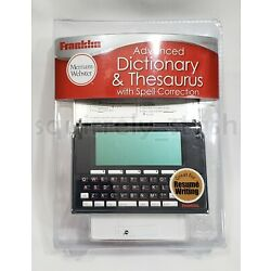 Franklin Merriam-Webster Advanced Dictionary Thesaurus MWD-1500