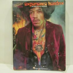 Jimi Hendrix Experience Sheet Music Transcribed Score Guitar Bass Drums Tab Book