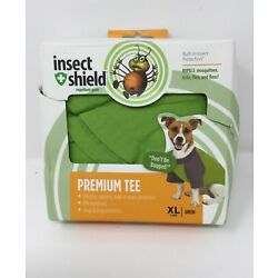 Insect Shield Insect Repellant Premium T-Shirt for Protecting Dogs Fleas Ticks
