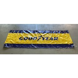 Goodyear Banner 3 ft X 9 ft Racing Tires Banner NOS GoodYear Tire & Rubber Co.