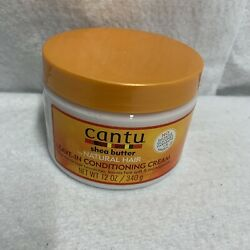 Cantu Shea Butter for Natural Hair Leave in Conditioning Cream, 12 Oz