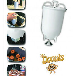 Mr Donuts Donut Maker Machine Manual Kitchen Tool And Gadget MADE IN GREECE