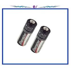 Energizer A23 12V 33 mAh Alkaline 23-A Batteries (2-ct.) Exp. Latest BRAND NEW!!