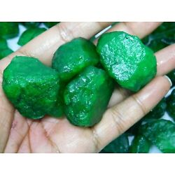500.00 Cts Natural Colombian Translucent green emerald loose rough gemstone