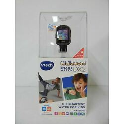 VTech Kidizoom Smartwatch DX2 Black with Dual Cameras 80-193859 -NEW