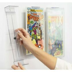Comic Mount Invisible Comic Book Display Shelf Stand and Wall Mount