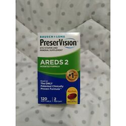 Bausch+Lomb PreserVision AREDS 2 Formula 120 softgels, EXP 2022+