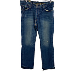 Abercrombie & Fitch Handcrafted Low Rise Slim Boot Denim Jeans Men's Size 32x30