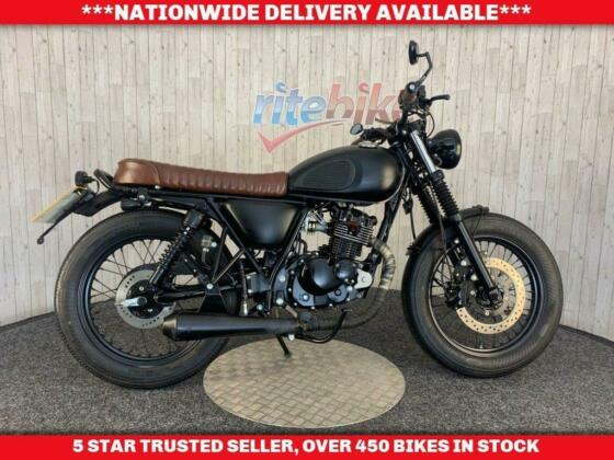 MUTT MONGREL 125 LEARNER LEGAL LOW MILEAGE ONE OWNER  2019 19