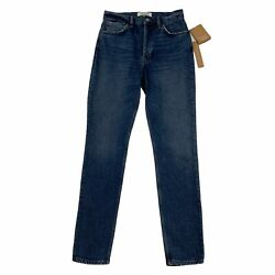 Reformation Jeans Serena High Skinny Jean Size 25 Kasai Button Fly High Waisted