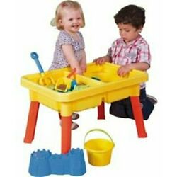 23'' Multiplay 2-In-1 Sand and Water Table Set Favorite Toy Hands Down Plastic