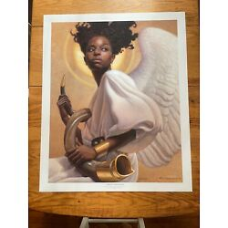 Preparing to Sound the Alarm by Thomas Blackshear LEP signed/numbered