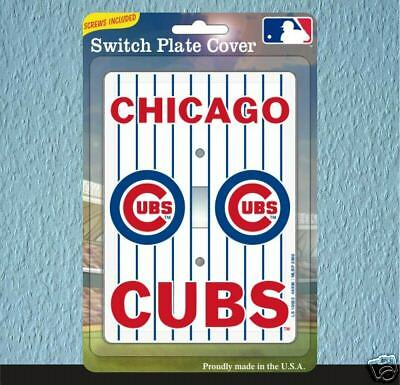 chicago cubs light switch plate cover ebay