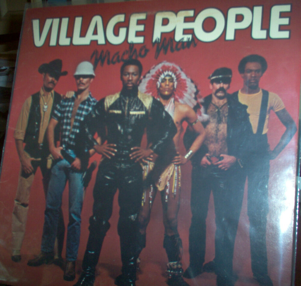 Village People Macho Man 1978 Lp Ebay