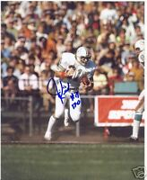 JIM KIICK MIAMI DOLPHINS SIGNED 8X10 PHOTO W/COA