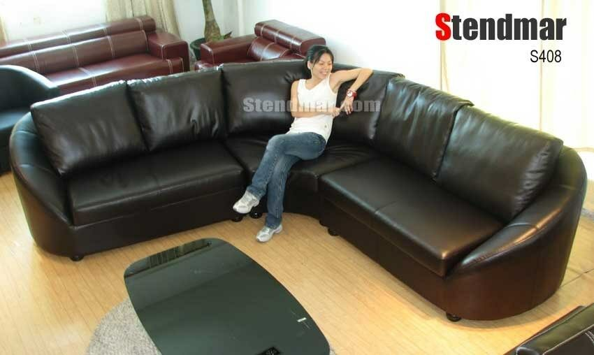 3PC NEW MODERN EURO DESIGN LEATHER SECTIONAL SOFA S408 EBay