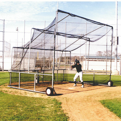Pro Backstop Batting Cage For A Pitching Machine Ebay