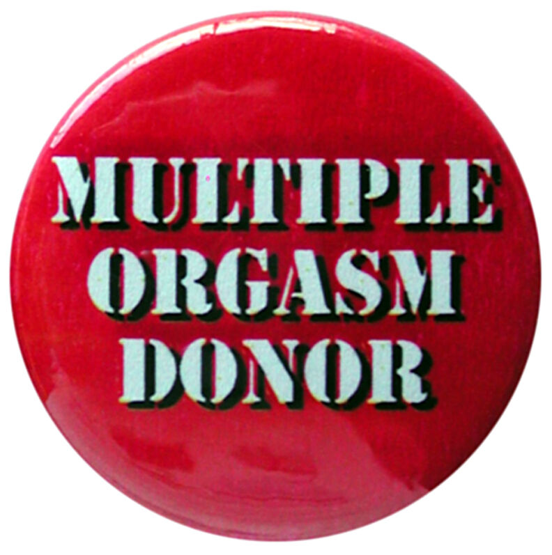 Multiple orgasm donor