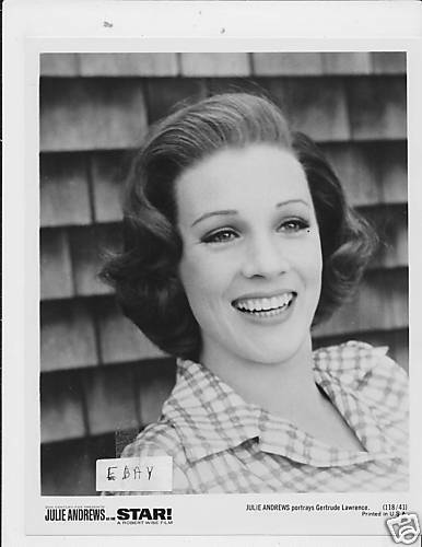 Julie Andrews Sexy Smile Vintage Photo Star  Ebay-9767