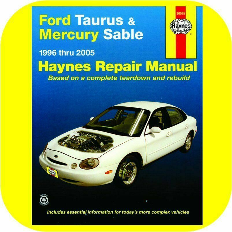 repair manual book ford taurus mercury sable 96 05 new ebay. Black Bedroom Furniture Sets. Home Design Ideas