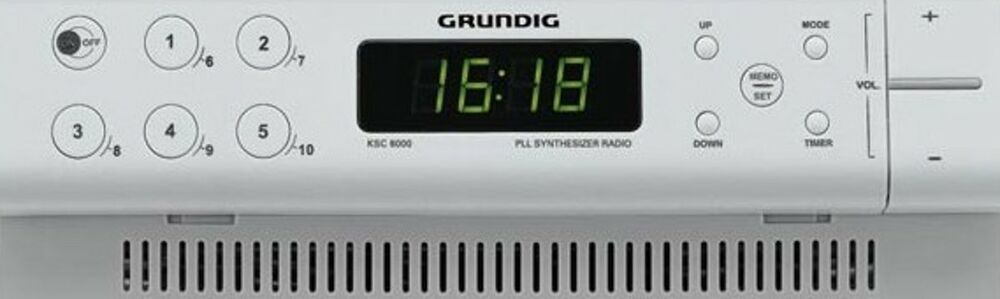 grundig k chenradio radio unterbauradio k che sofort ebay. Black Bedroom Furniture Sets. Home Design Ideas
