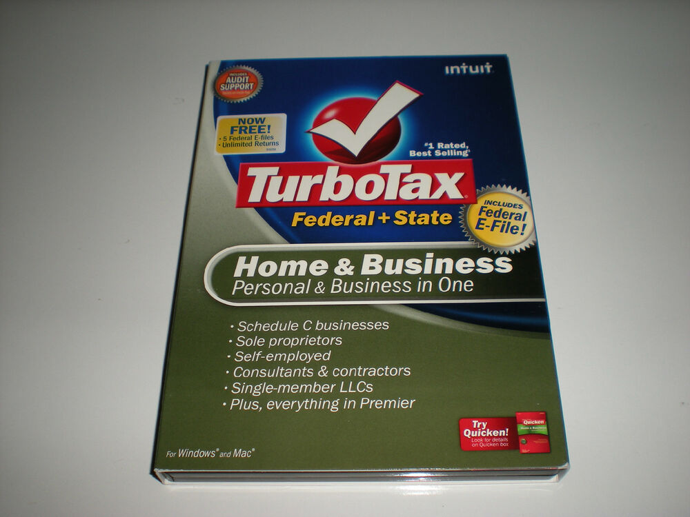 Intuit Turbotax Home And Business