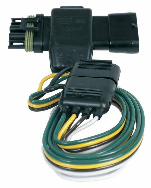 chevrolet tahoe trailer plug wiring trailer tail light connector chevy tahoe suburban 95-99 | ebay chevrolet trailer plug wiring diagram