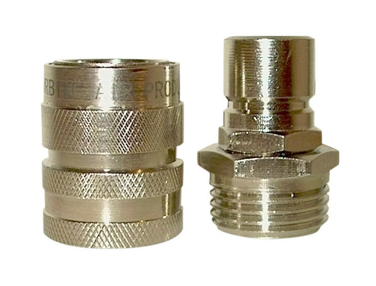 High Flow Garden Hose Quick Connector Coupler Coupling Ebay