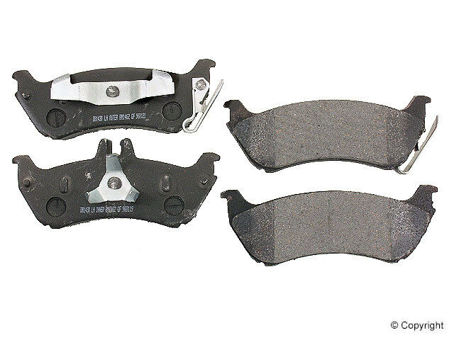 Rear disc brake pads mercedes benz ml320 ml350 ml430 ebay for Mercedes benz rotors and pads