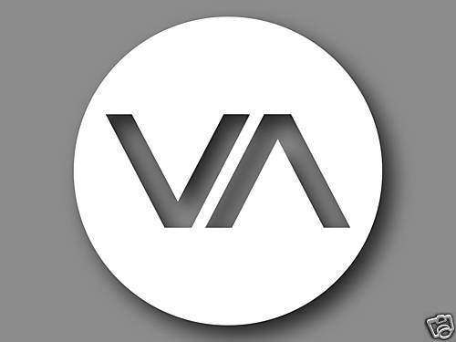 1 Rvca Va Vinyl Decal Sticker White Ruca Surf Skate Ufc Ebay