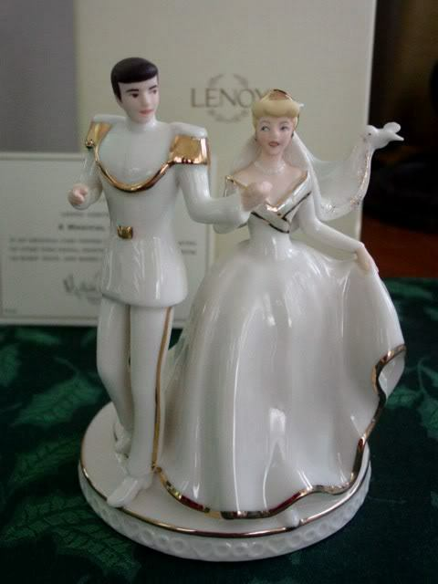 lenox cinderella wedding cake topper lenox disney a magical moment cinderella cake topper new 16818