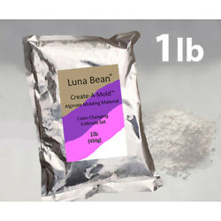 Kyпить Luna Bean Create A Mold Chromatic ALGINATE MOLDING POWDER Life Cast Gel Casting на еВаy.соm