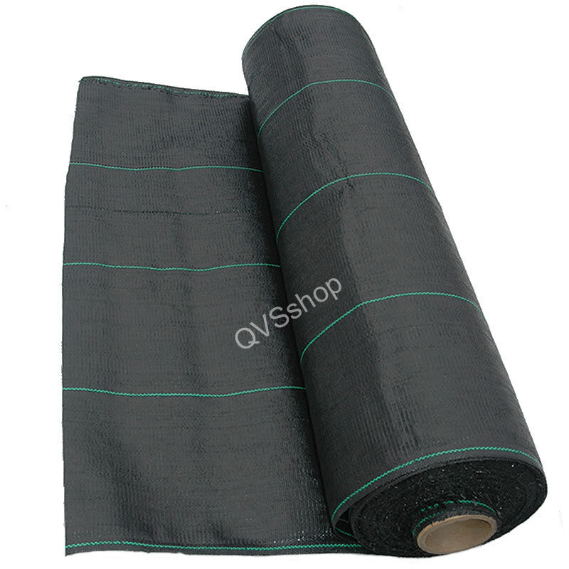 100m x 1m ground weed control stop fabric cover sheet. Black Bedroom Furniture Sets. Home Design Ideas