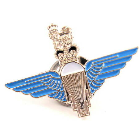 img-PARATROOPERS BADGE Royal Air Force lapel tie pin metal Military army soldier kit