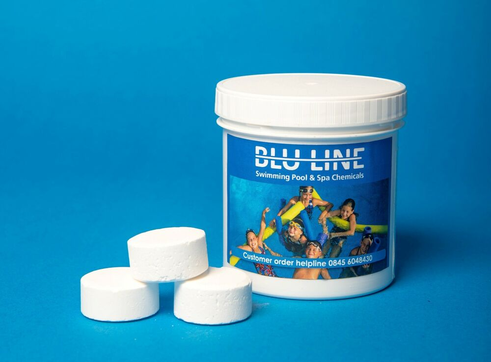 Small chlorine tablets for swimming pools free gift ebay for Chlorination of swimming pools