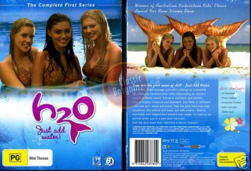 H2o just add water complete season 1 6 dvd set h20 new for H20 just add water seasons