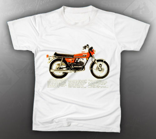 vintage yamaha rd350 tee shirt like nos ebay. Black Bedroom Furniture Sets. Home Design Ideas
