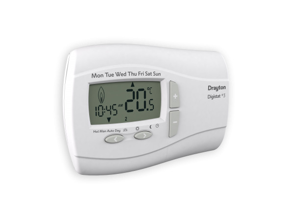 drayton digistat 3 7 day programmable thermostat battery. Black Bedroom Furniture Sets. Home Design Ideas