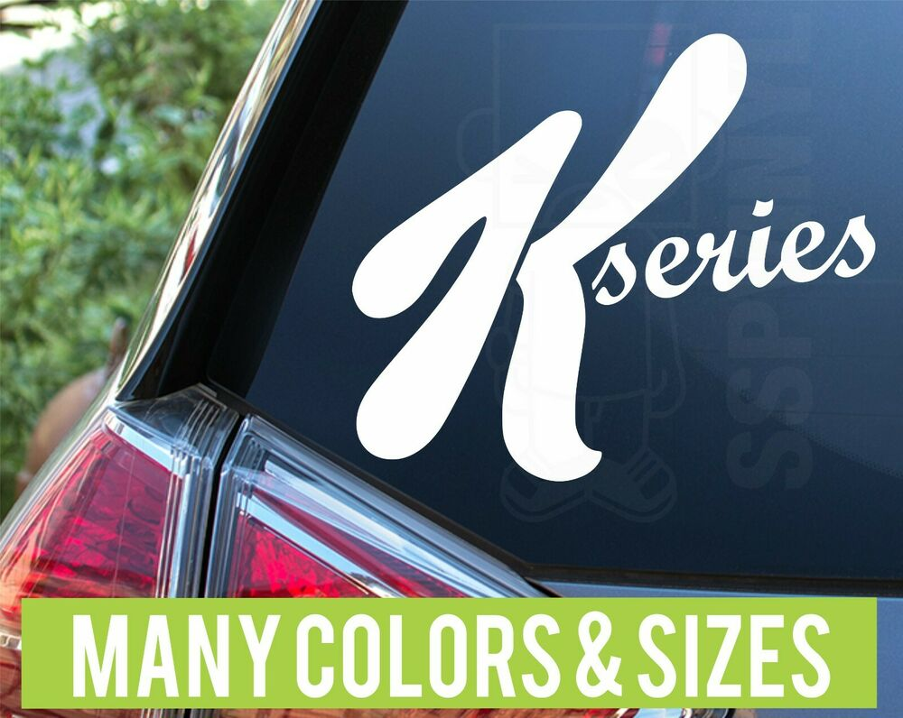 Truck Stickers For Back Window >> K Series (Special K) JDM Import Racing sticker decal | eBay