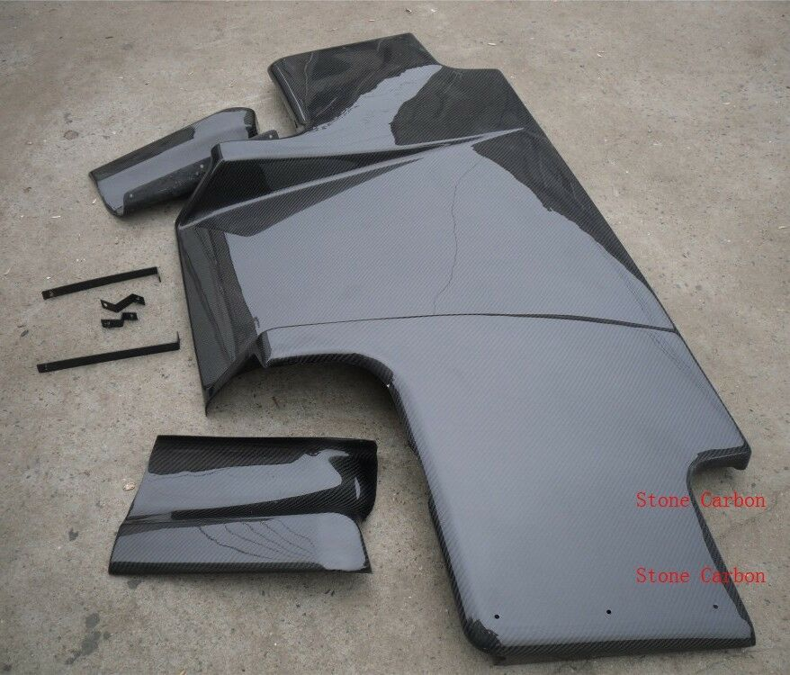 Carbon Fiber Rear Diffuser TS Style Fit For Nissan R32 GTR