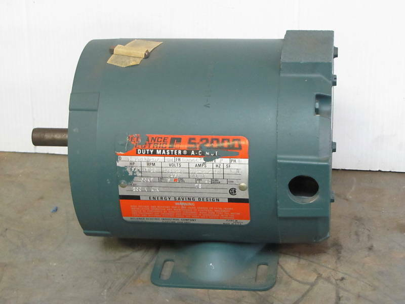 Reliance Electric S 2000 P56h1320z 1 2hp 1 2 Hp 1725 Rpm