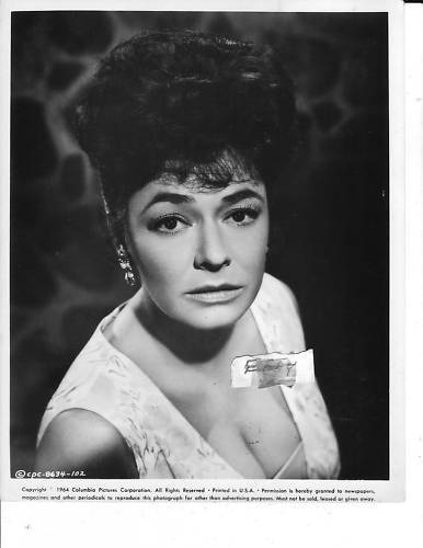 Ruth Roman Of Many Movies She Was In Strangers On A: Ruth Roman Busty VINTAGE Photo
