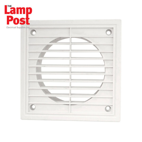 150mm 6 Inch Extractor Fan External Wall Grill Grille