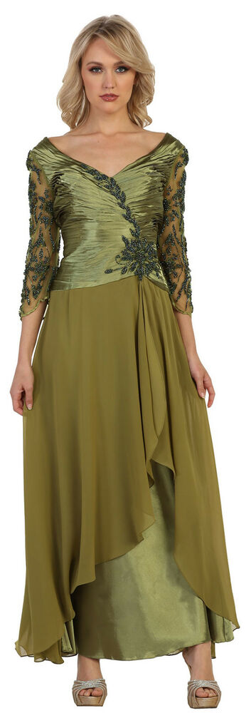 SALE ! PLUS SIZE DRESSES FORMAL EVENING MOTHER OF THE BRIDE GOWN NEW ...