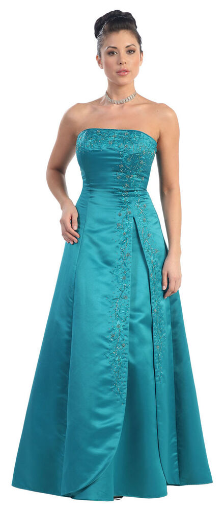 ! SALE ! NEW LONG EVENING DRESSES SIMPLE FORMAL GOWN UNDER ...