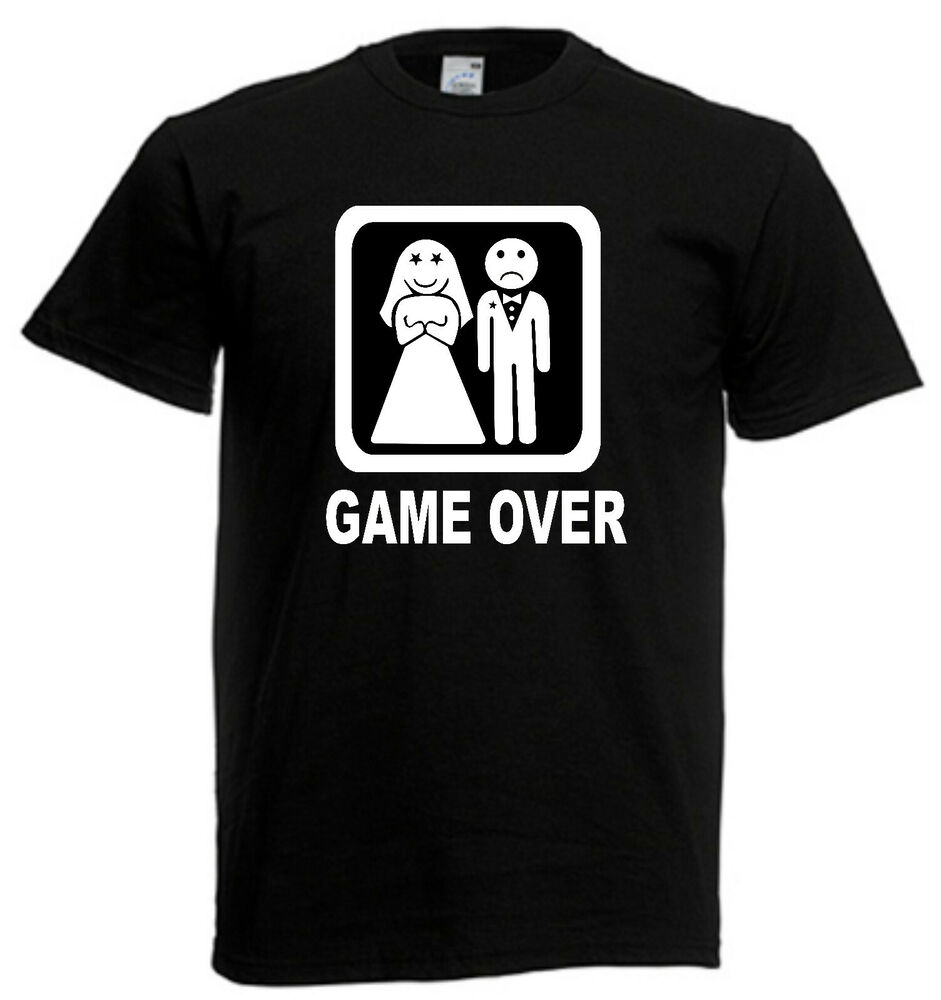 GAME OVER T-shirt - the baby on the way ǀ Fajntričko.com