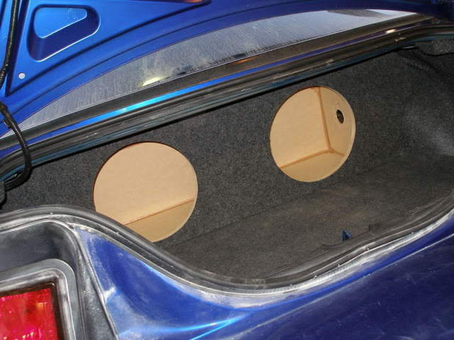 94 04 Ford Mustang Coupe Sub Box Subwoofer Enclosure Ebay
